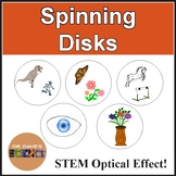 Optical Illusion: Spinning Disk