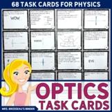 Optics Tasks Cards - EDITABLE!