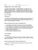 Optimal Behavior Checklist