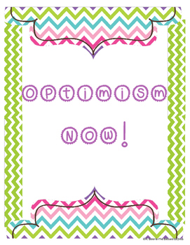 Optimism Now poster
