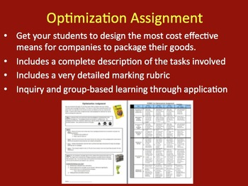 Optimization Assignment - Real-life Collaborative Assignment