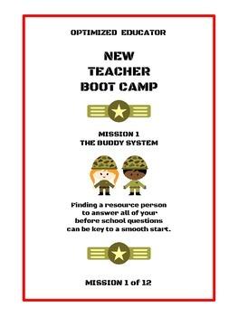 OPTIMIZED EDUCATOR New Teacher Workbook Bootcamp Mission 1