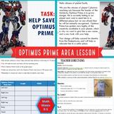 Optimus Prime Area Activity