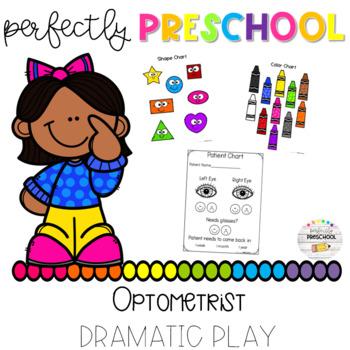 dfb30ed8dd4 Optometrist Dramatic Play by Perfectly Preschool