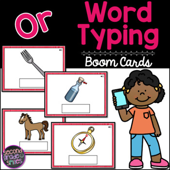 Or Word Typing Boom Cards