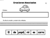 Oraciones Mezcladas- 1st and 2nd set 2