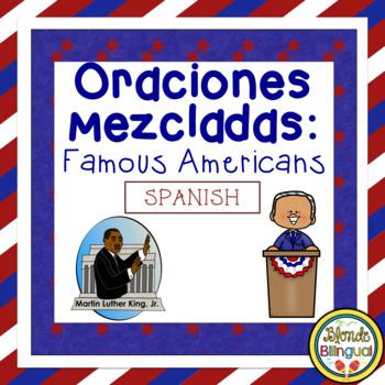 Oraciones Mezcladas - Famous Americans