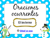 Oraciones Ocurrentes: Invierno {Spanish Language Arts Center}