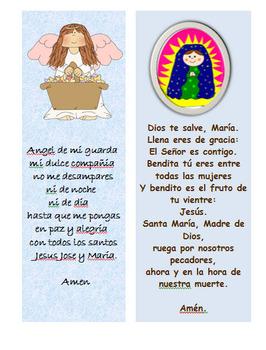 Oraciones -Spanish prayers