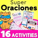Escribiendo Oraciones en Español Spanish Sentences