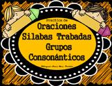 Silabas Trabadas Oraciones de Grupos ConsonanticosBlends WorksheetsBilMrsPartida