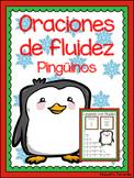 Oraciones de fluidez - pingüinos (Spanish winter reading f