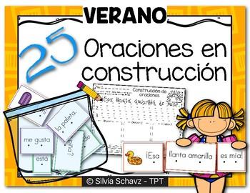 Oraciones en construcción - Verano