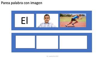 Oraciones en español SPED