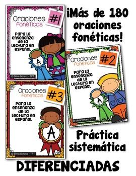 Oraciones fonéticas para enseñar a leer en español #1