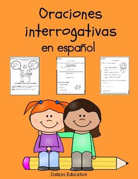 Oraciones interrogativas   Interrogative sentences in spanish