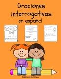 Oraciones interrogativas | Interrogative sentences in spanish