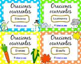 Oraciones ocurrentes Bundle: Full Year Spanish Literacy Ce