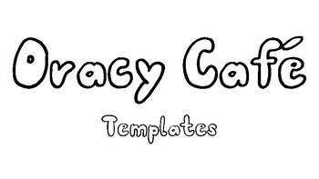 Oracy Cafe Center Templates