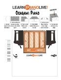 Oragami Piano