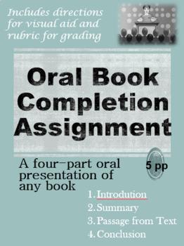 Oral Book Completion Presentation