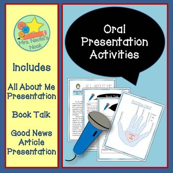 Oral Communication Activities - Ideal for Individual Prese