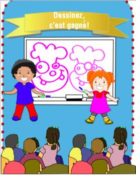 Oral Communication Lesson Plan- Dessinez c'est gagné!