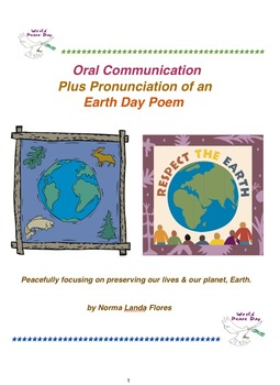 Oral Communication Plus Pronunciation of an Earth Day Poem