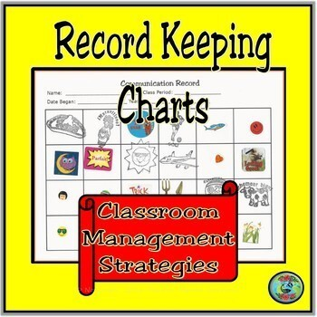Oral Communication Record Keeping Charts