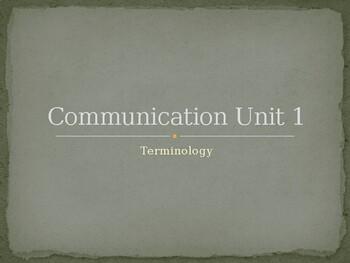 Oral Communication Unit 1
