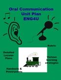 Oral Communication Unit for ENG4U