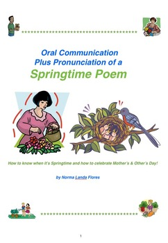 Oral Communication of a Springtime Poem