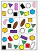 """Oral Conversation Game - Les Paires """"COLOURS & SHAPES"""""""