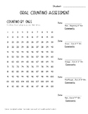 Oral Counting Assessment (to 120)