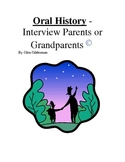 Oral History - Interviewing parents or grandparents