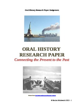 Oral History Research Project: Connecting the Present to the Past