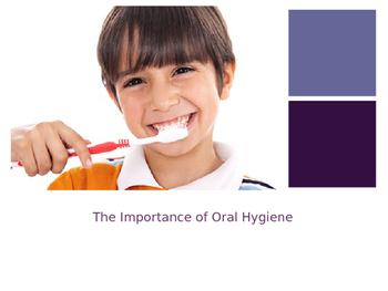 Oral Hygiene Powerpoint