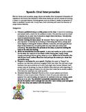 Oral Interpretation: Reading a Children's Book