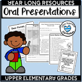 Oral Presentation Topics Checklist and Activities