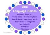 Oral Language Games