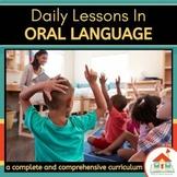 Oral Language Preschool Lesson Plans