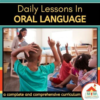 Oral Language Preschool Lesson Plans