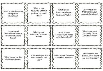 Oral Language Prompt Cards (Set A & B)