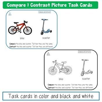 Oral Language Task Card Bundle