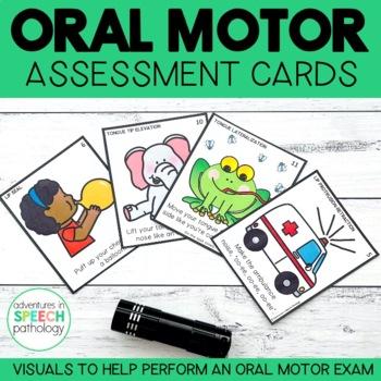 Oral Motor Assessment Cards