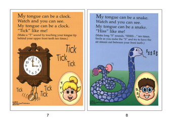 Oral Motor Skills Picture Book