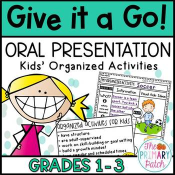 how to give an oral presentation