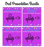 Oral Presentation Bundle: Instructions, Planning Pages, & Rubrics