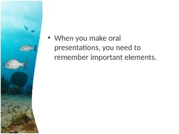 Oral Presentation Tips and Guidelines