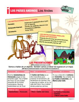ORAL Presentations - ANDEAN REGION: Vamos a Machu Picchu, ponchos, Amazonía ++
